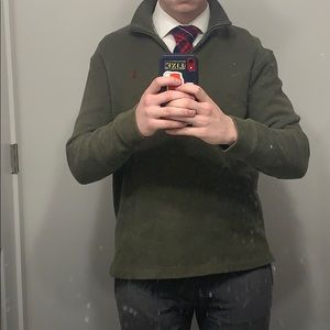 Polo by Ralph Lauren quarter zip sweater olive